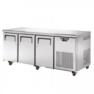 TRUE TGU-3F three-door freezer counter