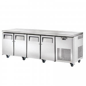 TRUE TGU-4 four-door refrigerator counter