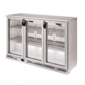 Infrico ERV 35 II Stainless Steel Back-bar Bottle Cooler 110v/60Hz