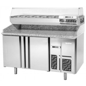 Infrico MPG 1490 Pizza Prep Table 700 GN 1/1