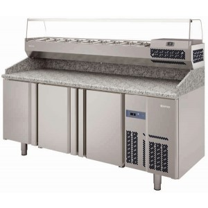Infrico MPG 1980 Pizza Prep Table 700 GN 1/1