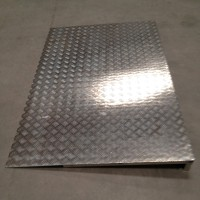 1200mm wide aluminium ramp for cold room