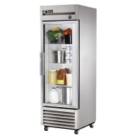 TRUE T-23G reach-in refrigerator, one glass door