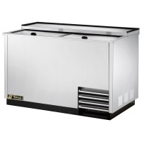TRUE T-50-GC-S glass and plate froster with stainless steel exterior