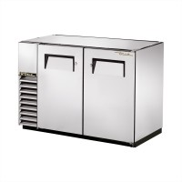 TRUE TBB-24GAL-48-S back bar compact cooler with stainless steel exterior