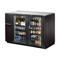 TRUE TBB-24GAL-48G back bar compact cooler with glass doors