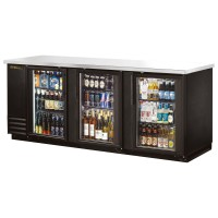 TRUE TBB-4G back bar cooler with glass doors