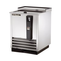 TRUE TD-24-7-S deep well horizontal bottle cooler with stainless steel exterior