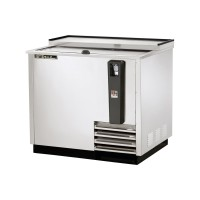 TRUE TD-36-12-S deep well horizontal bottle cooler with stainless steel exterior