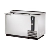 TRUE TD-50-18-S deep well horizontal bottle cooler with stainless steel exterior