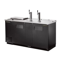 TRUE TDD-3CT club top direct draw beer dispenser
