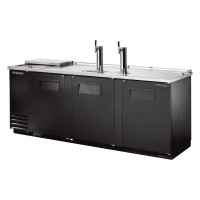 TRUE TDD-4CT club top direct draw beer dispenser