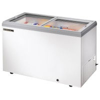 TRUE TFM-51FL glass lid horizontal freezer