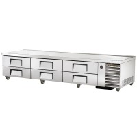 TRUE TRCB-110 refrigerated chef base table