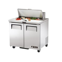 TRUE TSSU-36-8 sandwich or salad unit refrigerator
