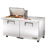 TRUE TSSU-60-12M-B sandwich or salad unit mega-top refrigerator