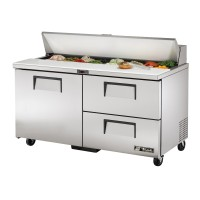 TRUE TSSU-60-16D-2 sandwich or salad unit drawered refrigerator