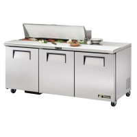TRUE TSSU-72-12 sandwich or salad unit refrigerator