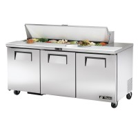 TRUE TSSU-72-16 sandwich or salad unit refrigerator