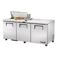 TRUE TSSU-72-8 sandwich or salad unit refrigerator