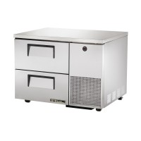 TRUE TUC-44D-2 deep drawered undercounter refrigerator