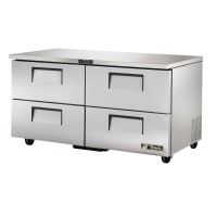 TRUE TUC-60D-4 drawered undercounter refrigerator