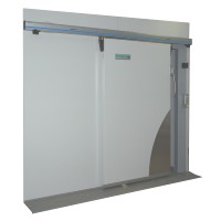 1400mm x 2000mmh sliding freezer room door