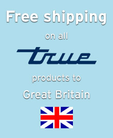 Free shipping of True refrigeration products to customers in Great Britain