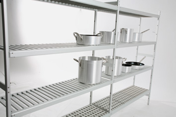 Italmodular cold room shelving