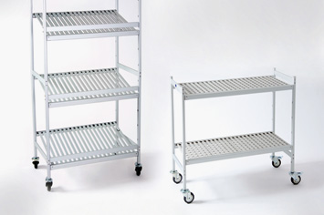 Italmodular display trolleys