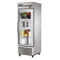 TRUE T-23G reach-in refrigerator, one glass door