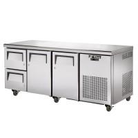 TRUE TGU-3D-2 gastronorm undercounter drawered refrigerator