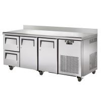 TRUE TGW-3D-2 gastronorm worktop drawered refrigerator
