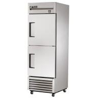 TRUE TS-23-2 reach-in refrigerator, two stainless steel half doors