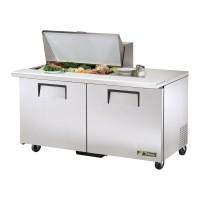 TRUE TSSU-60-15M-B sandwich or salad unit mega-top refrigerator