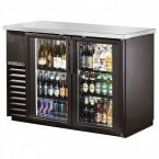 True TBB-24-48G back bar cooler with glass doors
